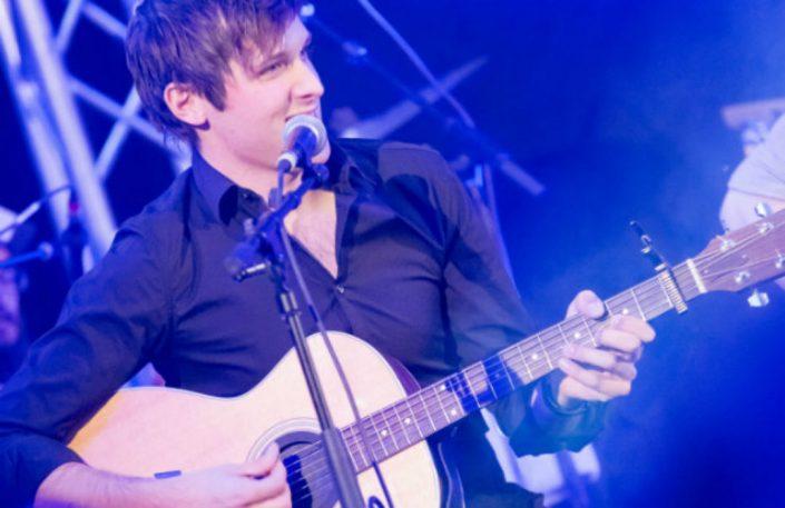 Musiker Daniel Klaebe unplugged